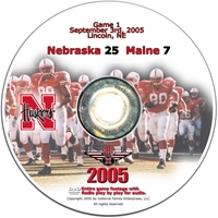 2005 Dvd Maine Husker football, Nebraska cornhuskers merchandise, husker merchandise, nebraska merchandise, nebraska cornhuskers dvd, husker dvd, nebraska football dvd, nebraska cornhuskers videos, husker videos, nebraska football videos, husker game dvd, husker bowl game dvd, husker dvd subscription, nebraska cornhusker dvd subscription, husker football season on dvd, nebraska cornhuskers dvd box sets, husker dvd box sets, Nebraska Cornhuskers, 2005 Maine