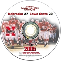 2005 Dvd Iowa State Husker football, Nebraska cornhuskers merchandise, husker merchandise, nebraska merchandise, nebraska cornhuskers dvd, husker dvd, nebraska football dvd, nebraska cornhuskers videos, husker videos, nebraska football videos, husker game dvd, husker bowl game dvd, husker dvd subscription, nebraska cornhusker dvd subscription, husker football season on dvd, nebraska cornhuskers dvd box sets, husker dvd box sets, Nebraska Cornhuskers, 2005 Iowa State