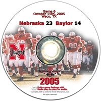 2005 Dvd Baylor Husker football, Nebraska cornhuskers merchandise, husker merchandise, nebraska merchandise, nebraska cornhuskers dvd, husker dvd, nebraska football dvd, nebraska cornhuskers videos, husker videos, nebraska football videos, husker game dvd, husker bowl game dvd, husker dvd subscription, nebraska cornhusker dvd subscription, husker football season on dvd, nebraska cornhuskers dvd box sets, husker dvd box sets, Nebraska Cornhuskers, 2005 Baylor