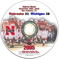2005 Dvd Alamo Bowl Vs Michigan Husker football, Nebraska cornhuskers merchandise, husker merchandise, nebraska merchandise, nebraska cornhuskers dvd, husker dvd, nebraska football dvd, nebraska cornhuskers videos, husker videos, nebraska football videos, husker game dvd, husker bowl game dvd, husker dvd subscription, nebraska cornhusker dvd subscription, husker football season on dvd, nebraska cornhuskers dvd box sets, husker dvd box sets, Nebraska Cornhuskers, 2005 Alamo Bowl vs. Michigan