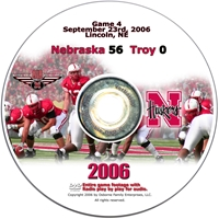 2006 Dvd Troy Husker football, Nebraska cornhuskers merchandise, husker merchandise, nebraska merchandise, nebraska cornhuskers dvd, husker dvd, nebraska football dvd, nebraska cornhuskers videos, husker videos, nebraska football videos, husker game dvd, husker bowl game dvd, husker dvd subscription, nebraska cornhusker dvd subscription, husker football season on dvd, nebraska cornhuskers dvd box sets, husker dvd box sets, Nebraska Cornhuskers, 2006 Troy