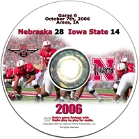 2006 Dvd Iowa State Husker football, Nebraska cornhuskers merchandise, husker merchandise, nebraska merchandise, nebraska cornhuskers dvd, husker dvd, nebraska football dvd, nebraska cornhuskers videos, husker videos, nebraska football videos, husker game dvd, husker bowl game dvd, husker dvd subscription, nebraska cornhusker dvd subscription, husker football season on dvd, nebraska cornhuskers dvd box sets, husker dvd box sets, Nebraska Cornhuskers, 2006 Iowa State