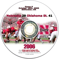 2006 Dvd Oklahoma State Husker football, Nebraska cornhuskers merchandise, husker merchandise, nebraska merchandise, nebraska cornhuskers dvd, husker dvd, nebraska football dvd, nebraska cornhuskers videos, husker videos, nebraska football videos, husker game dvd, husker bowl game dvd, husker dvd subscription, nebraska cornhusker dvd subscription, husker football season on dvd, nebraska cornhuskers dvd box sets, husker dvd box sets, Nebraska Cornhuskers, 2006 Oklahoma State