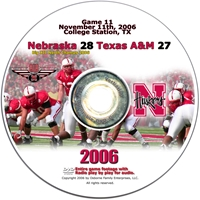 2006 Dvd Texas A&M Husker football, Nebraska cornhuskers merchandise, husker merchandise, nebraska merchandise, nebraska cornhuskers dvd, husker dvd, nebraska football dvd, nebraska cornhuskers videos, husker videos, nebraska football videos, husker game dvd, husker bowl game dvd, husker dvd subscription, nebraska cornhusker dvd subscription, husker football season on dvd, nebraska cornhuskers dvd box sets, husker dvd box sets, Nebraska Cornhuskers, 2006 Texas A&M