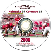 2006 Dvd Colorado Husker football, Nebraska cornhuskers merchandise, husker merchandise, nebraska merchandise, nebraska cornhuskers dvd, husker dvd, nebraska football dvd, nebraska cornhuskers videos, husker videos, nebraska football videos, husker game dvd, husker bowl game dvd, husker dvd subscription, nebraska cornhusker dvd subscription, husker football season on dvd, nebraska cornhuskers dvd box sets, husker dvd box sets, Nebraska Cornhuskers, 2006 Colorado