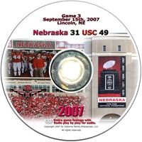 2007 Dvd USC Husker football, Nebraska cornhuskers merchandise, husker merchandise, nebraska merchandise, nebraska cornhuskers dvd, husker dvd, nebraska football dvd, nebraska cornhuskers videos, husker videos, nebraska football videos, husker game dvd, husker bowl game dvd, husker dvd subscription, nebraska cornhusker dvd subscription, husker football season on dvd, nebraska cornhuskers dvd box sets, husker dvd box sets, Nebraska Cornhuskers, 2007 USC
