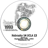 1993 UCLA Husker football, Nebraska cornhuskers merchandise, husker merchandise, nebraska merchandise, nebraska cornhuskers dvd, husker dvd, nebraska football dvd, nebraska cornhuskers videos, husker videos, nebraska football videos, husker game dvd, husker bowl game dvd, husker dvd subscription, nebraska cornhusker dvd subscription, husker football season on dvd, nebraska cornhuskers dvd box sets, husker dvd box sets, Nebraska Cornhuskers, 1993 UCLA