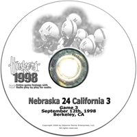 1998 California Husker football, Nebraska cornhuskers merchandise, husker merchandise, nebraska merchandise, nebraska cornhuskers dvd, husker dvd, nebraska football dvd, nebraska cornhuskers videos, husker videos, nebraska football videos, husker game dvd, husker bowl game dvd, husker dvd subscription, nebraska cornhusker dvd subscription, husker football season on dvd, nebraska cornhuskers dvd box sets, husker dvd box sets, Nebraska Cornhuskers, 1998 California