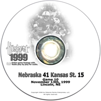 1999 Kansas State Husker football, Nebraska cornhuskers merchandise, husker merchandise, nebraska merchandise, nebraska cornhuskers dvd, husker dvd, nebraska football dvd, nebraska cornhuskers videos, husker videos, nebraska football videos, husker game dvd, husker bowl game dvd, husker dvd subscription, nebraska cornhusker dvd subscription, husker football season on dvd, nebraska cornhuskers dvd box sets, husker dvd box sets, Nebraska Cornhuskers, 1999 Kansas State