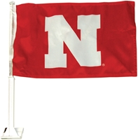 Husker Iron N Car Flag Nebraska Cornhuskers, husker football, nebraska cornhuskers merchandise, husker merchandise, nebraska merchandise, nebraska cornhuskers vehicle items, husker car stuff, nebraska vehicle items, husker vehicle items, husker auto accessories, nebraska cornhuskers auto accessories, nebraska car accessories, husker car accessories, nebraska cornhuskers car accessories, nebraska cornhuskers truck accessories, husker truck accessories, nebraska truck accessories, IRON N CAR FLAG