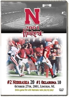 2001 Nu Vs. Oklahoma Dvd Husker football, Nebraska cornhuskers merchandise, husker merchandise, nebraska merchandise, nebraska cornhuskers dvd, husker dvd, nebraska football dvd, nebraska cornhuskers videos, husker videos, nebraska football videos, husker game dvd, husker bowl game dvd, husker dvd subscription, nebraska cornhusker dvd subscription, husker football season on dvd, nebraska cornhuskers dvd box sets, husker dvd box sets, Nebraska Cornhuskers, 2001 OKLAHOMA