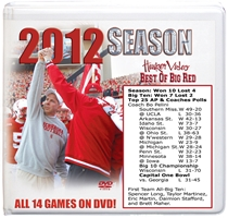 2012 Season Box Set Husker football, Nebraska cornhuskers merchandise, husker merchandise, nebraska merchandise, nebraska cornhuskers dvd, husker dvd, nebraska football dvd, nebraska cornhuskers videos, husker videos, nebraska football videos, husker game dvd, husker bowl game dvd, husker dvd subscription, nebraska cornhusker dvd subscription, husker football season on dvd, nebraska cornhuskers dvd box sets, husker dvd box sets, Nebraska Cornhuskers, 2012 Season