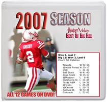 2007 Season On Dvd Husker football, Nebraska cornhuskers merchandise, husker merchandise, nebraska merchandise, nebraska cornhuskers dvd, husker dvd, nebraska football dvd, nebraska cornhuskers videos, husker videos, nebraska football videos, husker game dvd, husker bowl game dvd, husker dvd subscription, nebraska cornhusker dvd subscription, husker football season on dvd, nebraska cornhuskers dvd box sets, husker dvd box sets, Nebraska Cornhuskers, 2007 Complete Season on DVD