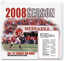 2008 Season On Dvd Husker football, Nebraska cornhuskers merchandise, husker merchandise, nebraska merchandise, nebraska cornhuskers dvd, husker dvd, nebraska football dvd, nebraska cornhuskers videos, husker videos, nebraska football videos, husker game dvd, husker bowl game dvd, husker dvd subscription, nebraska cornhusker dvd subscription, husker football season on dvd, nebraska cornhuskers dvd box sets, husker dvd box sets, Nebraska Cornhuskers, 2008 Complete Season on DVD