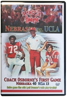 1973 vs. UCLA, T.O.s First Game Husker football, Nebraska cornhuskers merchandise, husker merchandise, nebraska merchandise, nebraska cornhuskers dvd, husker dvd, nebraska football dvd, nebraska cornhuskers videos, husker videos, nebraska football videos, husker game dvd, husker bowl game dvd, husker dvd subscription, nebraska cornhusker dvd subscription, husker football season on dvd, nebraska cornhuskers dvd box sets, husker dvd box sets, Nebraska Cornhuskers, 1973 vs. UCLA, T.O.s First Game