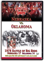 1978 Oklahoma Game with Lyell Bremser!! Husker football, Nebraska cornhuskers merchandise, husker merchandise, nebraska merchandise, nebraska cornhuskers dvd, husker dvd, nebraska football dvd, nebraska cornhuskers videos, husker videos, nebraska football videos, husker game dvd, husker bowl game dvd, husker dvd subscription, nebraska cornhusker dvd subscription, husker football season on dvd, nebraska cornhuskers dvd box sets, husker dvd box sets, Nebraska Cornhuskers, 1978 Oklahoma Game with Lyell Bremser!!