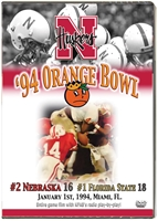 1994 Orange Bowl Vs Florida St Husker football, Nebraska cornhuskers merchandise, husker merchandise, nebraska merchandise, nebraska cornhuskers dvd, husker dvd, nebraska football dvd, nebraska cornhuskers videos, husker videos, nebraska football videos, husker game dvd, husker bowl game dvd, husker dvd subscription, nebraska cornhusker dvd subscription, husker football season on dvd, nebraska cornhuskers dvd box sets, husker dvd box sets, Nebraska Cornhuskers, 1994 Orange Bowl vs. Florida State