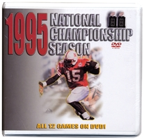 1995 Championship Season Box Set - Special Price! Husker football, Nebraska cornhuskers merchandise, husker merchandise, nebraska merchandise, nebraska cornhuskers dvd, husker dvd, nebraska football dvd, nebraska cornhuskers videos, husker videos, nebraska football videos, husker game dvd, husker bowl game dvd, husker dvd subscription, nebraska cornhusker dvd subscription, husker football season on dvd, nebraska cornhuskers dvd box sets, husker dvd box sets, Nebraska Cornhuskers, 1995 Championship Season DVD Box Set