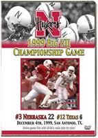 1999 Big XII Championship vs. Texas Husker football, Nebraska cornhuskers merchandise, husker merchandise, nebraska merchandise, nebraska cornhuskers dvd, husker dvd, nebraska football dvd, nebraska cornhuskers videos, husker videos, nebraska football videos, husker game dvd, husker bowl game dvd, husker dvd subscription, nebraska cornhusker dvd subscription, husker football season on dvd, nebraska cornhuskers dvd box sets, husker dvd box sets, Nebraska Cornhuskers, 1999 Big XII Championship vs. Texas