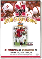 2000 Fiesta Bowl vs. Tennessee Husker football, Nebraska cornhuskers merchandise, husker merchandise, nebraska merchandise, nebraska cornhuskers dvd, husker dvd, nebraska football dvd, nebraska cornhuskers videos, husker videos, nebraska football videos, husker game dvd, husker bowl game dvd, husker dvd subscription, nebraska cornhusker dvd subscription, husker football season on dvd, nebraska cornhuskers dvd box sets, husker dvd box sets, Nebraska Cornhuskers, 2000 Fiesta Bowl vs. Tennessee