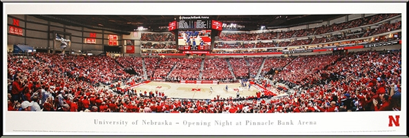 Framed Opening Night Basketball at Pinnacle Arena Nebraska Cornhuskers, Nebraska Collectibles, Huskers Collectibles, Nebraska Home & Office, Huskers Home & Office, Nebraska  Game Room & Big Red Room, Huskers  Game Room & Big Red Room, Nebraska  Office Den & Entry, Huskers  Office Den & Entry, Nebraska Wall Decor, Huskers Wall Decor, Nebraska  Framed Pieces, Huskers  Framed Pieces, Nebraska Deluxe Framed Panorama of New Stadium , Huskers Deluxe Framed Panorama of New Stadium