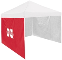 Iron N Red Tent Side Panel Nebraska Cornhuskers, Red N Tent Side Panel