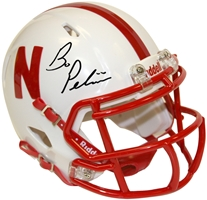 Pelini Signed Mini Helmet Nebraska Cornhuskers, husker football, nebraska cornhuskers merchandise, husker merchandise, nebraska merchandise, husker memorabilia, husker autographed, nebraska cornhuskers autographed, Bo Pelini autographed, Bo Pelini signed, Bo Pelini collectible, Bo Pelini, nebraska cornhuskers memorabilia, nebraska cornhuskers collectible, Bo Pelini Signed Mini Helmet