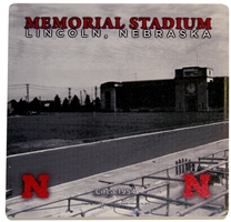 1954 Memorial Stadium Coaster Nebraska Cornhuskers, Nebraska Collectibles, Huskers Collectibles, Nebraska Home & Office, Huskers Home & Office, Nebraska  Game Room & Big Red Room, Huskers  Game Room & Big Red Room, Nebraska  Kitchen & Glassware, Huskers  Kitchen & Glassware, Nebraska  Office Den & Entry, Huskers  Office Den & Entry, Nebraska  Patio, Lawn & Garden, Huskers  Patio, Lawn & Garden, Nebraska 1954 Memorial Stadium Coaster, Huskers 1954 Memorial Stadium Coaster