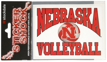 Nebraska Volleyball Decal Nebraska Cornhuskers, Nebraska Vehicle, Huskers Vehicle, Nebraska  Other Sports, Huskers  Other Sports, Nebraska Volleyball, Huskers Volleyball, Nebraska Stickers Decals & Magnets , Huskers Stickers Decals & Magnets , Nebraska Nebraska Volleyball Decal, Huskers Nebraska Volleyball Decal