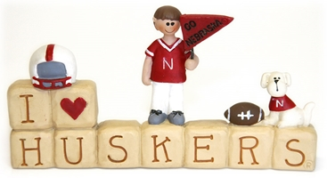 I Heart Huskers Blocks and Figures Nebraska Cornhuskers, Nebraska  Game Room & Big Red Room, Huskers  Game Room & Big Red Room, Nebraska  Office Den & Entry, Huskers  Office Den & Entry, Nebraska I Heart Huskers Blocks and Figures, Huskers I Heart Huskers Blocks and Figures