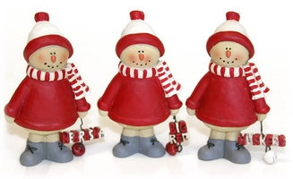 Husker Bells Snowmen Set Nebraska Cornhuskers, Nebraska  Holiday Items, Huskers  Holiday Items, Nebraska  Office Den & Entry, Huskers  Office Den & Entry, Nebraska Husker Bells Snowmen Set, Huskers Husker Bells Snowmen Set