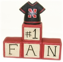 Number One Fan Husker Blocks Nebraska Cornhuskers, Nebraska  Bedroom & Bathroom, Huskers  Bedroom & Bathroom, Nebraska Kids, Huskers Kids, Nebraska  Office Den & Entry, Huskers  Office Den & Entry, Nebraska Number One Fan Husker Blocks, Huskers Number One Fan Husker Blocks