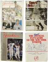 Yankees Magazines and Souvenir Programs Nebraska Cornhuskers, Yankees Magazines and Souvenir Programs