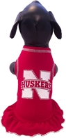 Husker Hounds Cheer Dress All Star Dogs Cheer Dress, Nebraska Cornhuskers, husker football, nebraska merchandise, husker merchandise, nebraska cornhusker merchandise, nebraska cornhuskers pet items, husker pet items, Husker Dog jersey, nebraska dog jersey, nebraska cornhuskers dog jersey