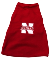 Dog Fleece Nebraska Cornhuskers, Nebraska Pet Items, Huskers Pet Items, Nebraska Dog Fleece, Huskers Dog Fleece